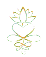 Heart Lotus graphic image by S. Anderson
